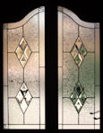 Bevelled Stained Glass Panel Version 2