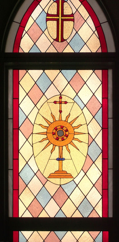 Church Stained Glass Panel Version 2