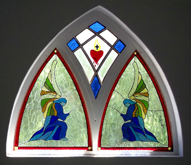 Contemporary Stained Glass Panels Version 6