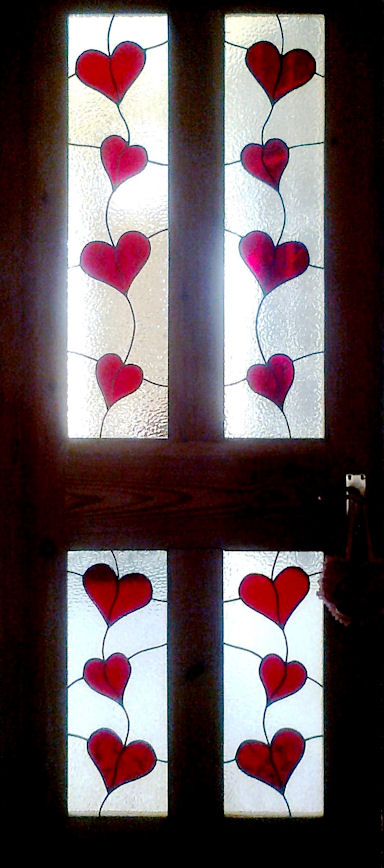 Contemporary Stained Glass Panels Version 8