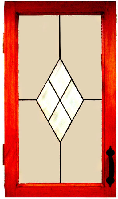 SD Stained Glass Cupboard