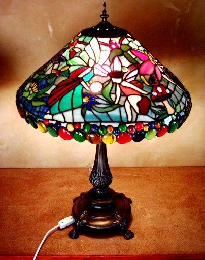 Fairy Lamp Stained Glass Lamp