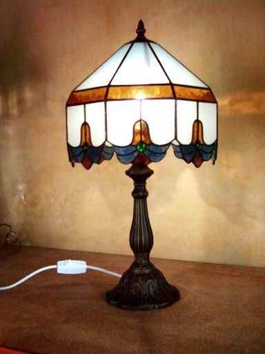 SGSCNTB-100 Stained Glass Table Lamp