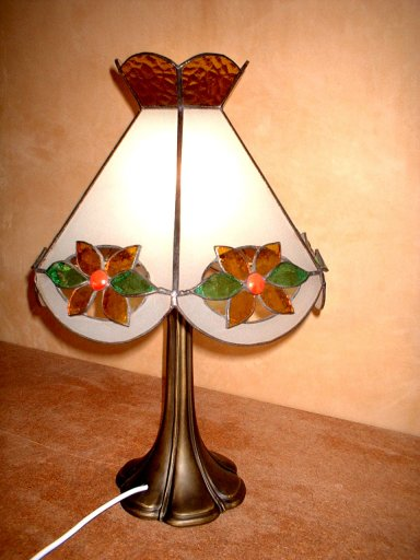 SGFLBB-100 Stained Glass Table Lamp