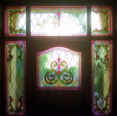 Victorian Stained Glass Panels Version 7